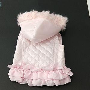 Little Lass child's vest hood size 18 months